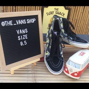 Vans Vanosaur Sk8-Hi Pro Suede & Canvas Sneakers